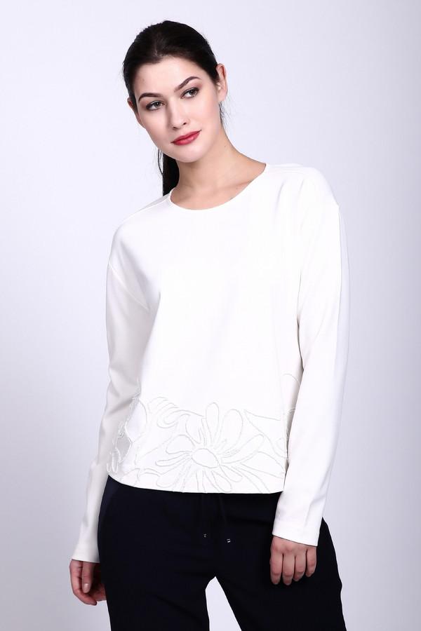 Пуловер Gerry WeberПуловеры<br><br><br>Размер RU: 50<br>Пол: Женский<br>Возраст: Взрослый<br>Материал: вискоза 70%, эластан 5%, полиэстер 25%<br>Цвет: Белый