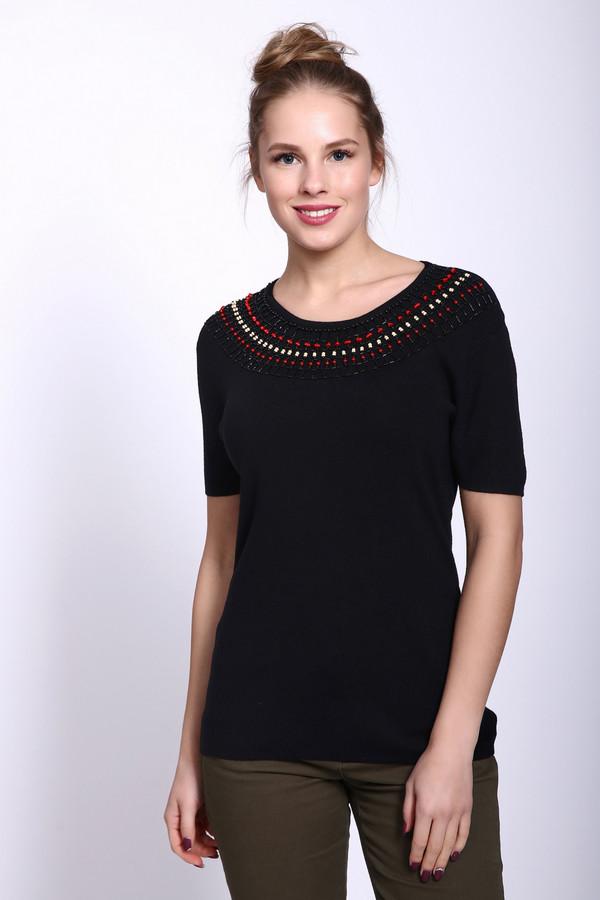 женский пуловер pezzo, черный
