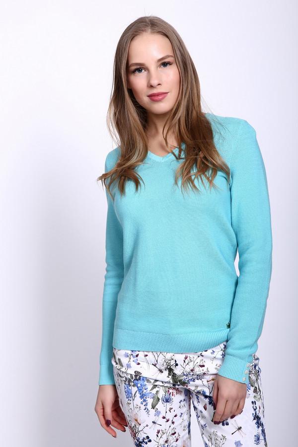женский пуловер pezzo, голубой
