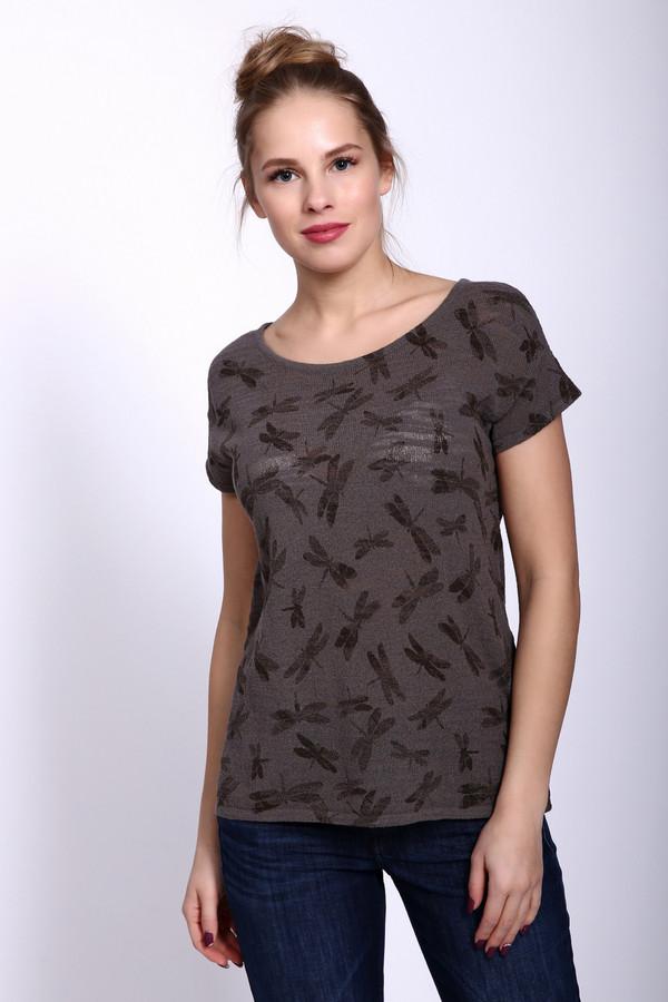 женский пуловер pezzo, коричневый