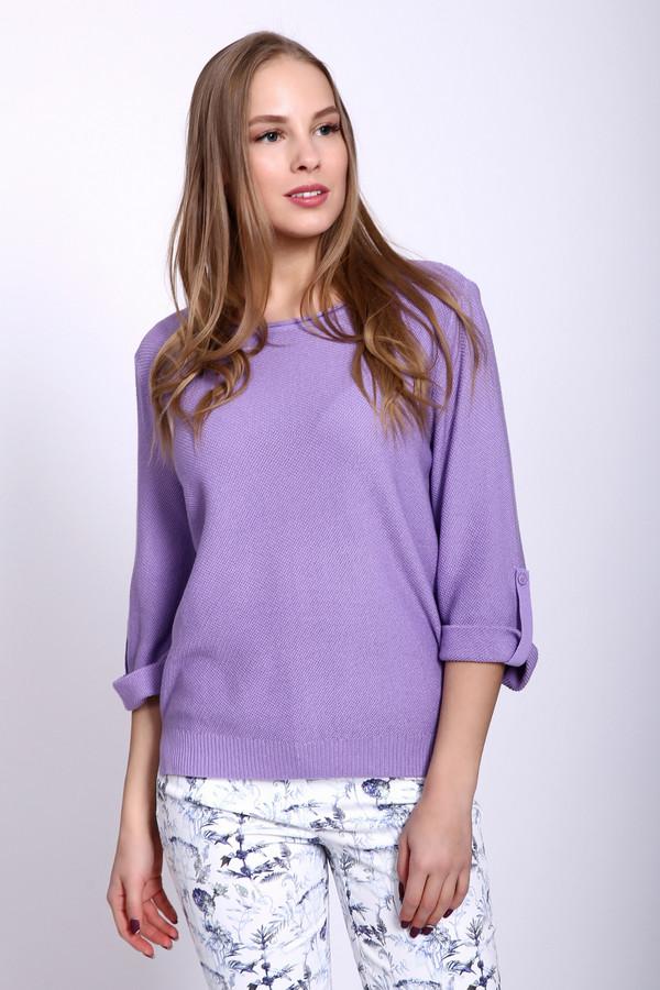 Пуловер PezzoПуловеры<br><br><br>Размер RU: 54<br>Пол: Женский<br>Возраст: Взрослый<br>Материал: вискоза 33%, хлопок 67%<br>Цвет: Сиреневый