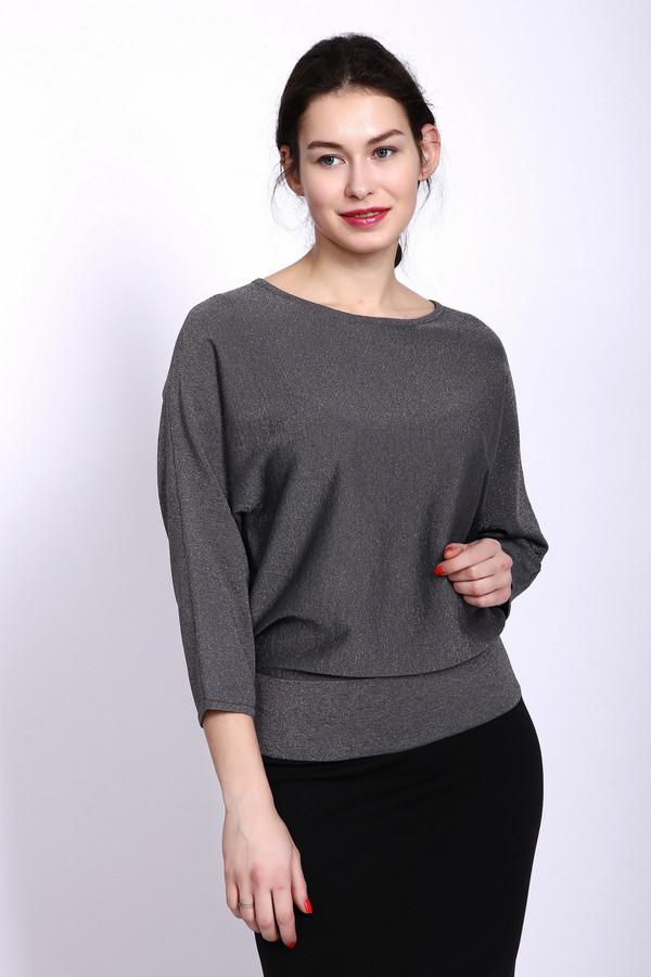Пуловер PezzoПуловеры<br><br><br>Размер RU: 46<br>Пол: Женский<br>Возраст: Взрослый<br>Материал: вискоза 50%, полиэстер 15%, полиамид 27%, металл 8%<br>Цвет: Серый