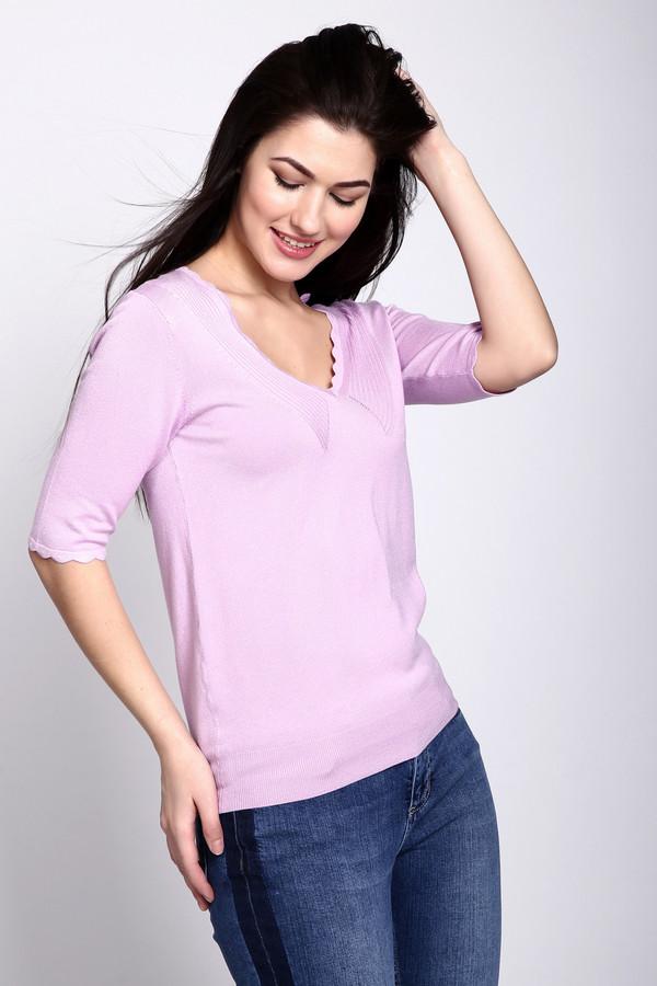 Пуловер PezzoПуловеры<br><br><br>Размер RU: 48<br>Пол: Женский<br>Возраст: Взрослый<br>Материал: полиамид 19%, вискоза 81%<br>Цвет: Розовый