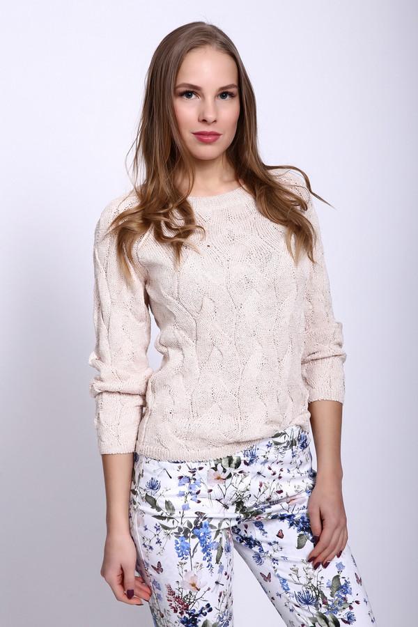 Пуловер PezzoПуловеры<br><br><br>Размер RU: 46<br>Пол: Женский<br>Возраст: Взрослый<br>Материал: вискоза 84%, полиэстер 12%<br>Цвет: Бежевый