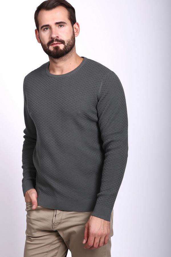 Джемпер PezzoДжемперы и Пуловеры<br><br><br>Размер RU: 52<br>Пол: Мужской<br>Возраст: Взрослый<br>Материал: хлопок 100%<br>Цвет: Серый