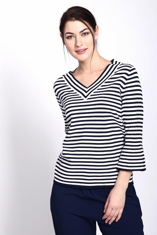женский пуловер rabe collection, разноцветный