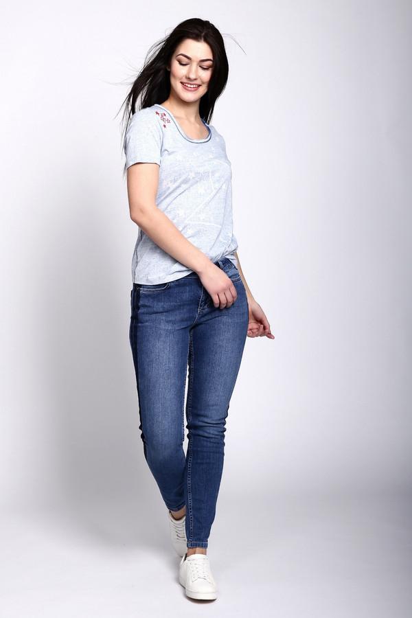 женские джинсы via appia, синие