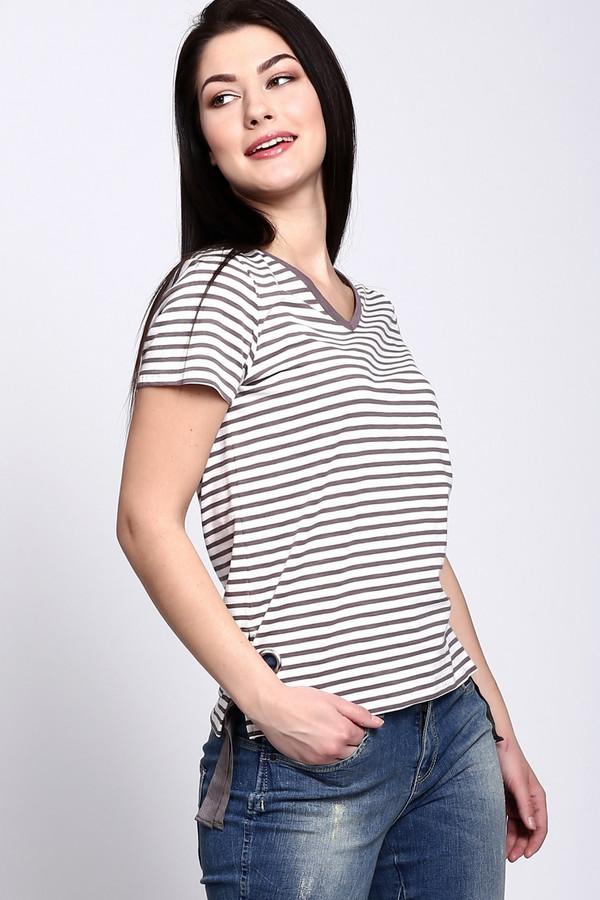 женская футболка via appia, разноцветная