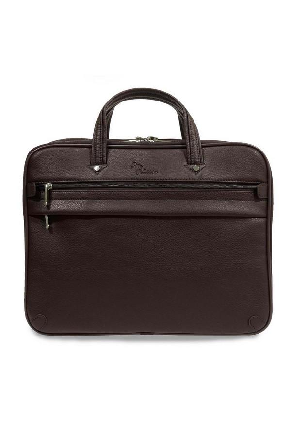 мужской портфель pellecon, коричневый
