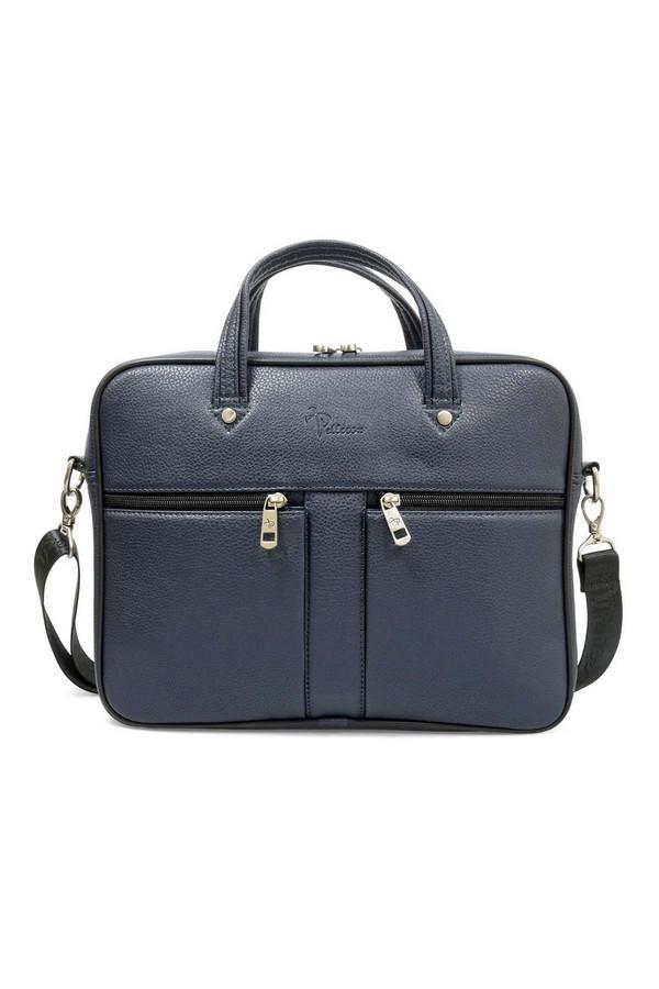 мужской портфель pellecon, синий