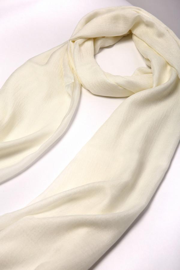 женский шарф pezzo, белый