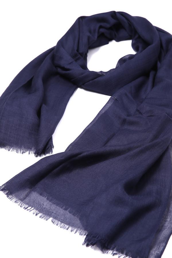женский шарф pezzo, синий