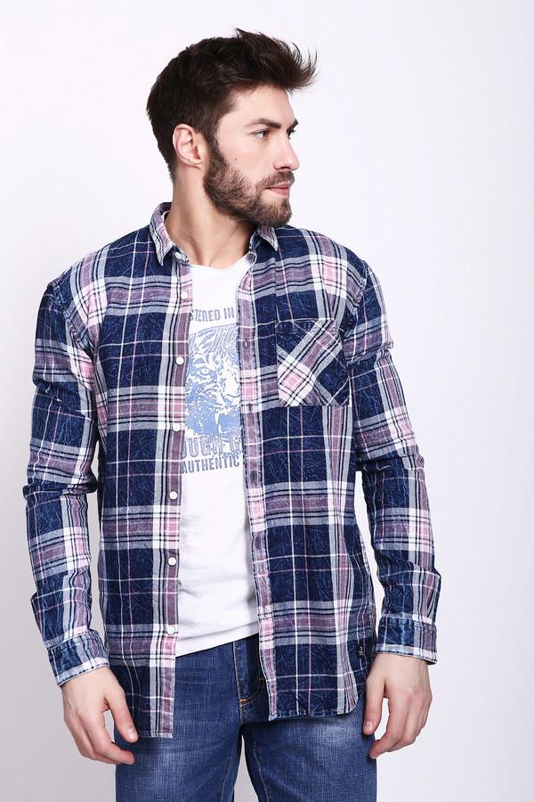 Купить Рубашка с длинным рукавом Tom Tailor, Индия, Разноцветный, хлопок 100%