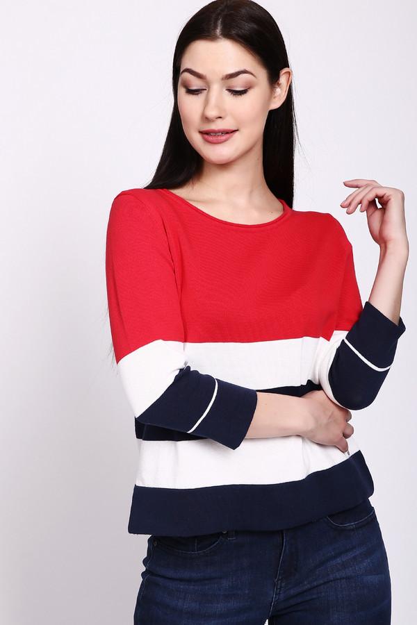 женский пуловер via appia, разноцветный