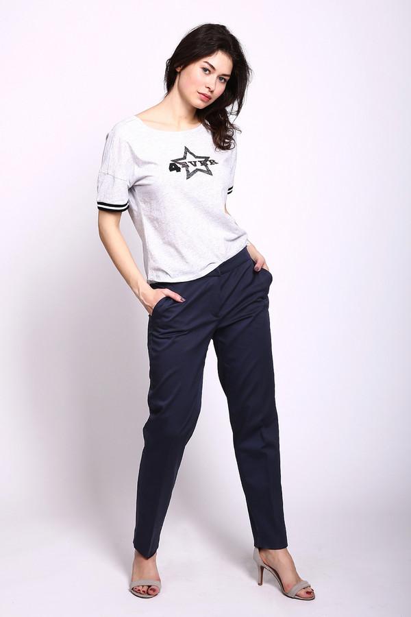 женские классические брюки betty barclay, синие