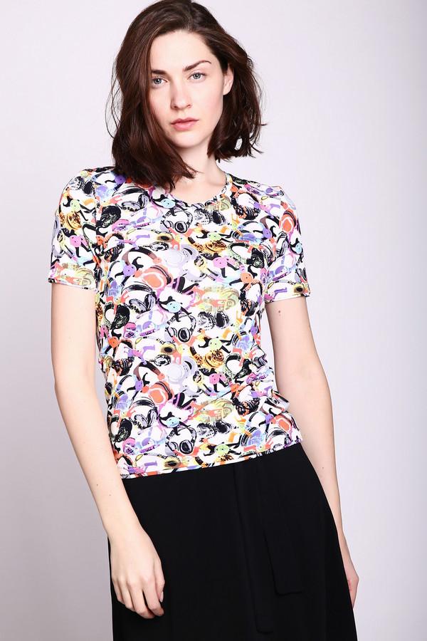 женская футболка pezzo, разноцветная