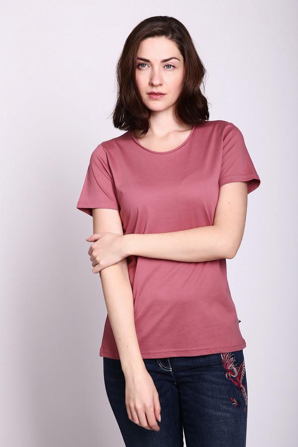 женская футболка just valeri, розовая