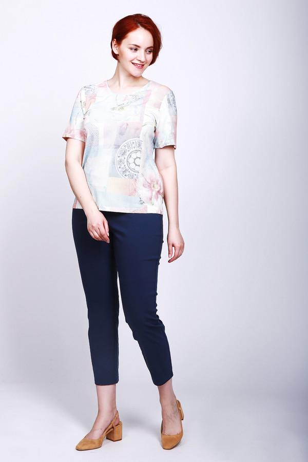женские брюки via appia, синие