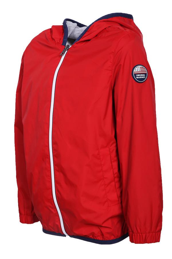 куртка original marines для мальчика, красная