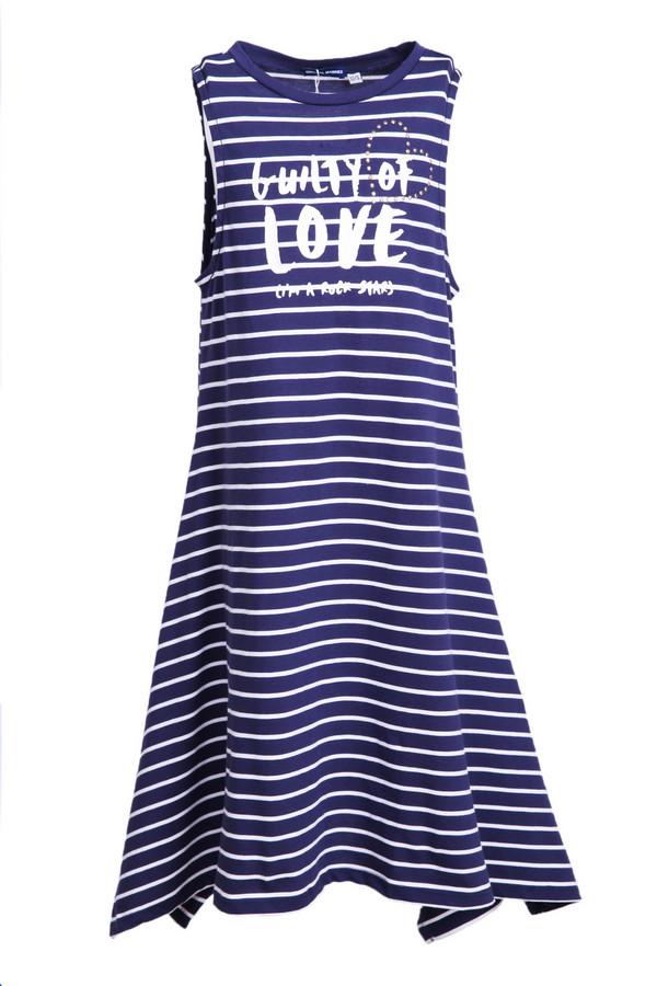 платье original marines для девочки, синее