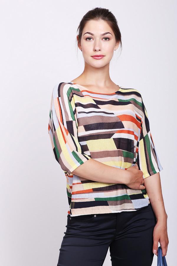 женский пуловер betty and co, разноцветный