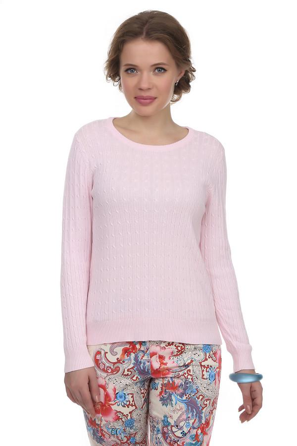 Пуловер Via AppiaПуловеры<br>Пуловер Via Appia розового цвета, сделанный из натурального хлопка. С первого взгляда модель привлекает романтической вязкой и уютным дизайном. Пуловер очень приятный на ощупь. Подходит, как для ежедневного ношения, так и для особенных случаев. В тандеме с аксессуарами и темным пиджаком подойдет для работы в офисе.<br><br>Размер RU: 52<br>Пол: Женский<br>Возраст: Взрослый<br>Материал: хлопок 100%<br>Цвет: Розовый