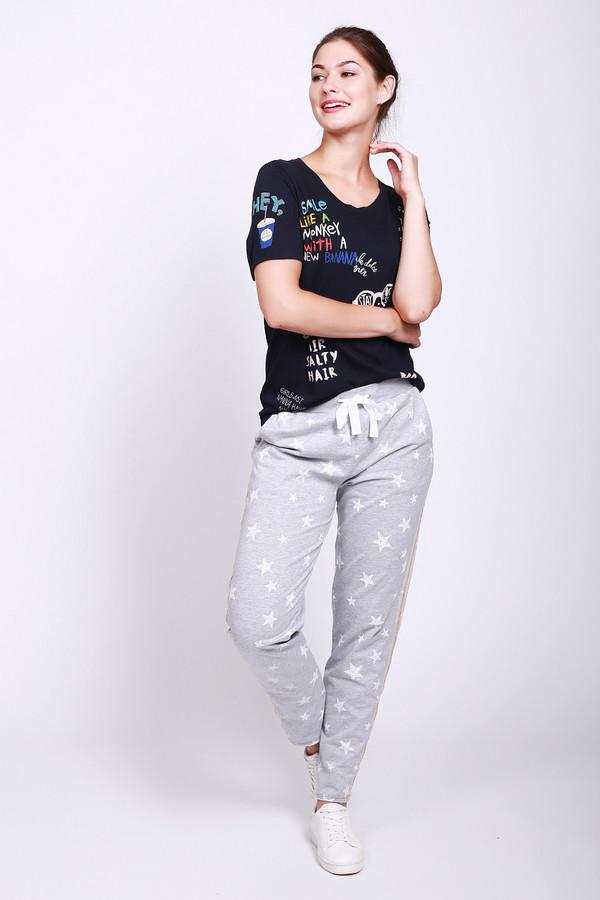 женские брюки via appia, серые