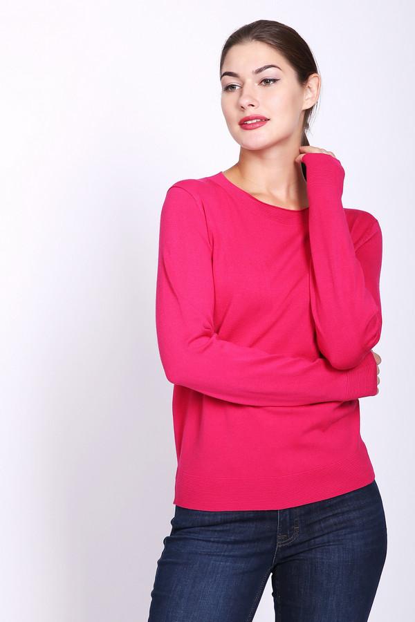 Пуловер PezzoПуловеры<br>Пуловер женский розового цвета фирмы Pezzo. Модель выполнена прямым покроем. Изделие дополнено округлым воротом, длинными рукавами. Состав ткани состоит из 80% вискозы и 20% нейлона. Такая модель очень комфортна и прекрасно будет гармонировать с различными деталями вашего гардероба. Яркий окрас полувера может освежить ваш образ.