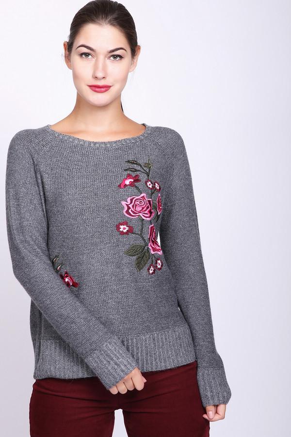 Купить Пуловер Pezzo, Китай, Серый, полиамид 20%, полиэстер 30%, шерсть 5%, вискоза 40%, ангора 5%