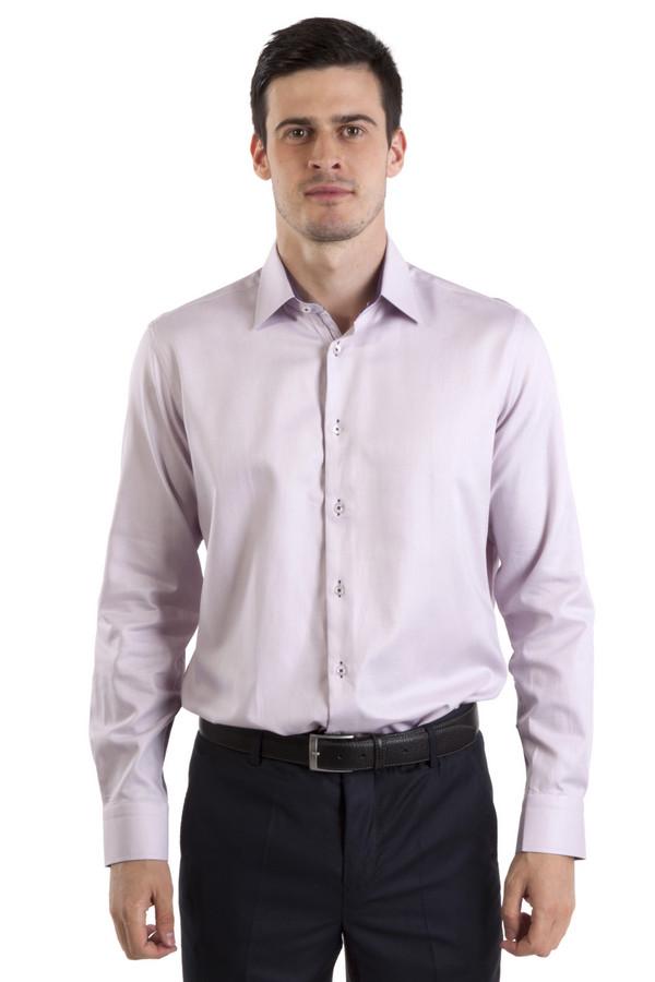 Рубашка Flavio NavaРубашки и сорочки<br>Классическая рубашка от бренда Flavio Nava прямого кроя выполнена из дышащего хлопка фиалкового цвета. Изделие дополнено: отложным воротником, втачными рукавами, округлым низом, манжетами и планкой на пуговицах.<br><br>Размер RU: 44<br>Пол: Мужской<br>Возраст: Взрослый<br>Материал: хлопок 100%<br>Цвет: Сиреневый