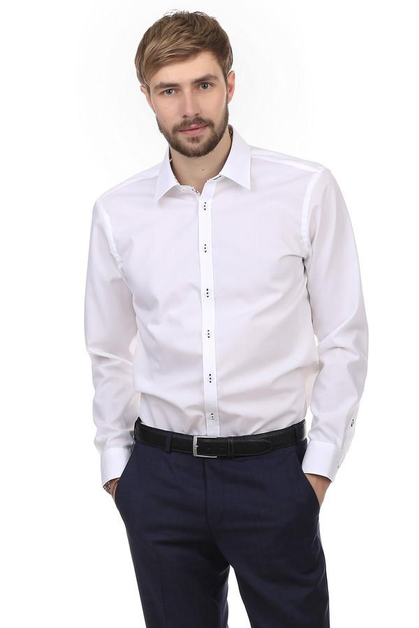 Рубашка с длинным рукавом VentiДлинный рукав<br>Белая рубашка от бренда Venti выполнена из натурального дышащего 100% хлопка без добавления посторонних материалов. Изделие дополнено: отложным воротником-стойкой, планкой на пуговицах и длинными рукавами. Манжеты застегиваются на несколько пуговиц. Пуговицы пришиты контрастными темными нитками, добавляя изысканности изделию. Будет хорошо смотреться в тандеме с  пиджаком  и  брюками .   slim fit/non-iron<br><br>Размер RU: 45<br>Пол: Мужской<br>Возраст: Взрослый<br>Материал: хлопок 100%<br>Цвет: Белый