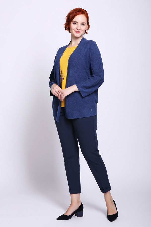 женские брюки frank walder, синие