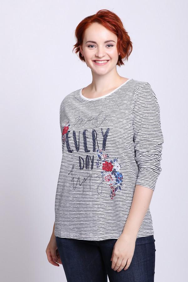 женская футболка via appia, серая