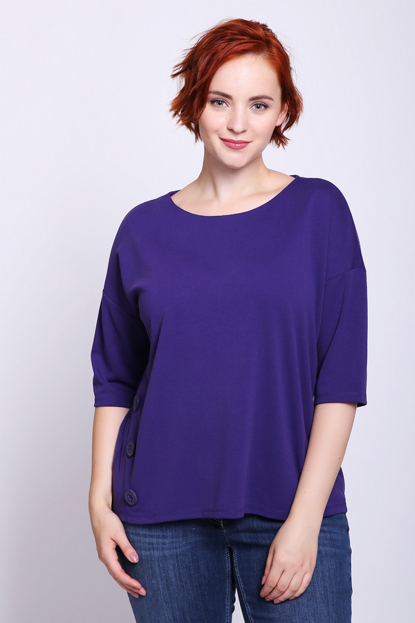 женский пуловер betty barclay, сиреневый
