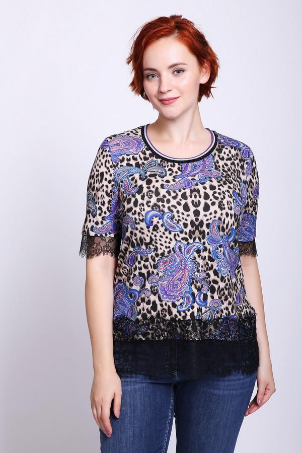 женская футболка betty barclay, разноцветная