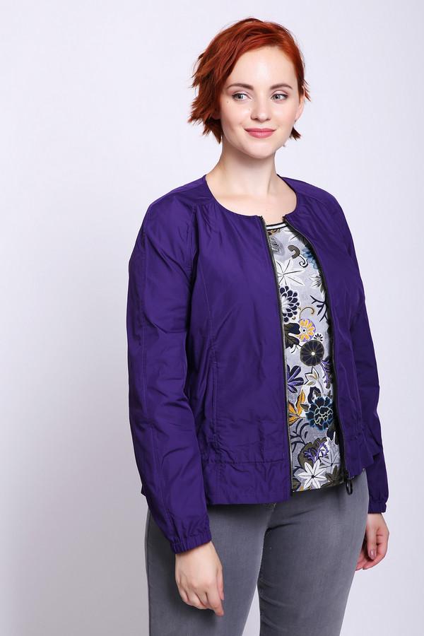 женский жакет с длинным рукавом betty barclay, фиолетовый
