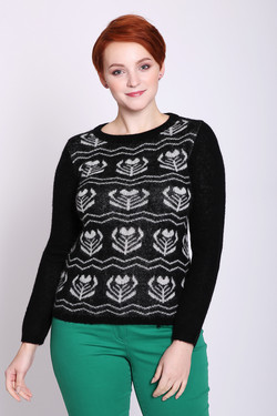 Пуловер Pezzo, цвет Чёрный, размер 52RU