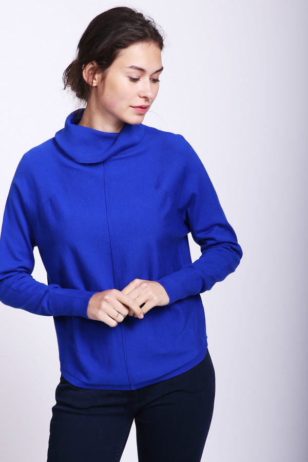 женский пуловер pezzo, синий