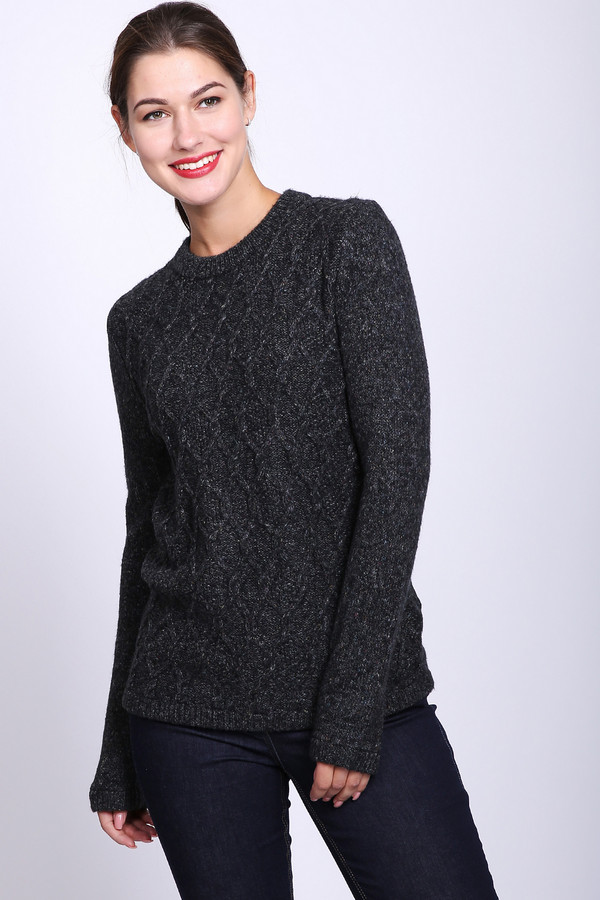 женский пуловер pezzo, серый