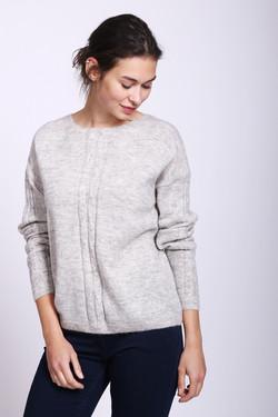 Пуловер Pezzo, цвет Серый, размер 54RU