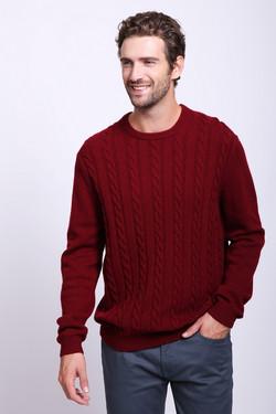 Джемпер Pezzo, цвет Красный, размер 46RU