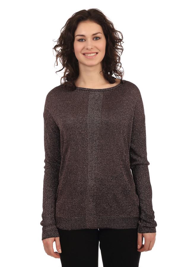 Пуловер Gerry WeberПуловеры<br>Оригинальный пуловер с блестящей нитью подходит и для работы, и для отдыха. В составе пуловера вискоза, которая делает эту вещь очень приятной к телу. Рукав – реглан, благодаря чему пуловер подходит практически на любую фигуру. Пуловер не приталенный, и должен быть немного свободным на фигуре, чтобы смотреться наиболее симпатично. Низ и манжеты пуловера на резинках.<br><br>Размер RU: 44<br>Пол: Женский<br>Возраст: Взрослый<br>Материал: вискоза 75%, полиэстер 25%<br>Цвет: Коричневый