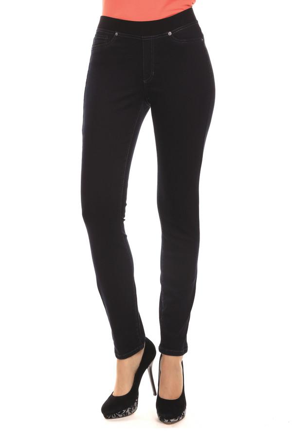 Модные джинсы CambioМодные джинсы<br>Удобные джеггинсы от бренда Cambio прилегающего кроя выполнены из денима темно-синего цвета. Изделие дополнено: эластичным поясом и пятью карманами. Это очень хорошая альтернатива стандартным повседневным джинсам.<br><br>Размер RU: 44<br>Пол: Женский<br>Возраст: Взрослый<br>Материал: эластан 2%, модал 50%, полиэстер 6%, хлопок 42%<br>Цвет: Синий
