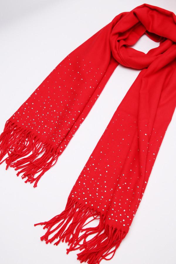 женский шарф pezzo, красный