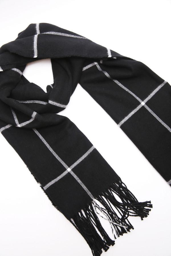 женский шарф pezzo, черный
