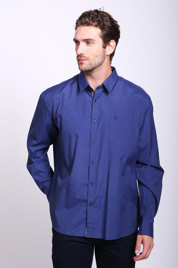 мужская рубашка pezzo, синяя