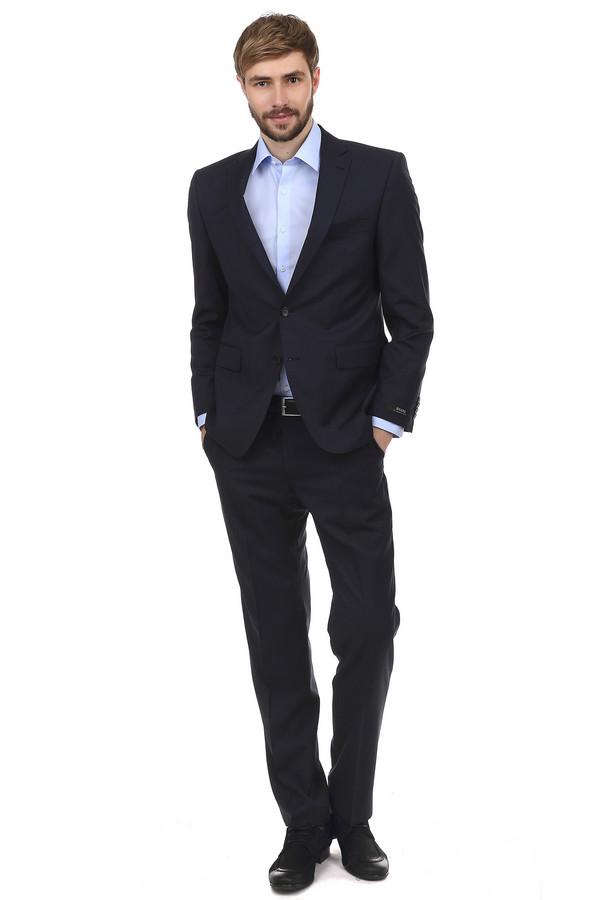 Классические брюки DigelКлассические брюки<br>Модные мужские брюки Digel классического покроя. Изделие дополнено: поясом с шлевками для ремня, двумя боковыми карманами, сзади двумя прорезными карманами с застежкой на пуговицу. Центральная застежка на молнию с пуговицей. Брюки немного зауженные, со стрелками и выполнены в темно-синем цвете. Материал брюк на 100% состоит из шерсти.<br><br>Размер RU: 56К<br>Пол: Мужской<br>Возраст: Взрослый<br>Материал: шерсть 100%<br>Цвет: Синий