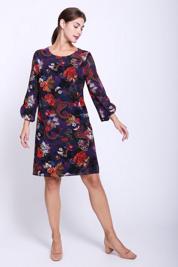 женское платье с рукавом 3/4 betty barclay, разноцветное