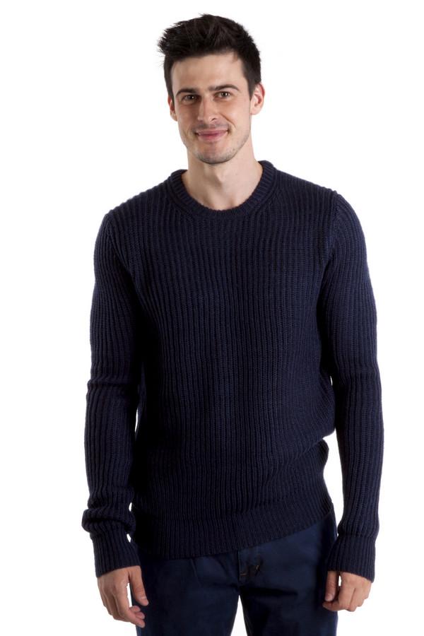 Джемпер LocustДжемперы<br>Джемпер от бренда Locust свободного кроя выполнен из темно-синий трикотажа. Изделие дополнено: круглым вырезом и длинными рукавами. Джемпер оформлен объемным вязанным узором.<br><br>Размер RU: 50-52<br>Пол: Мужской<br>Возраст: Взрослый<br>Материал: шерсть 10%, акрил 90%<br>Цвет: Синий