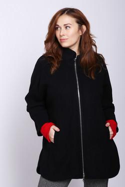 Пальто Pezzo, цвет Чёрный, размер 48RU